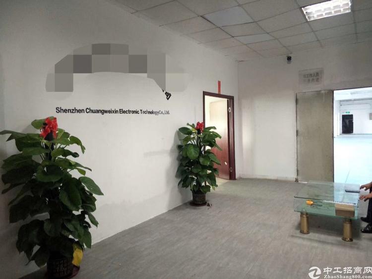 沙井地铁口带装修厂房出租550平-图2