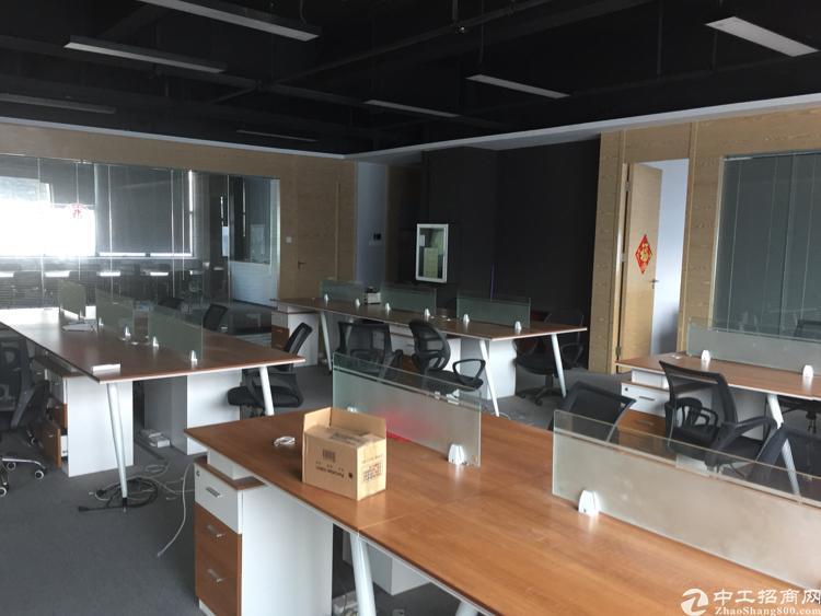 龙华大浪6号线地铁站旁边全新豪华精装修办公室带仓库会议出租拎