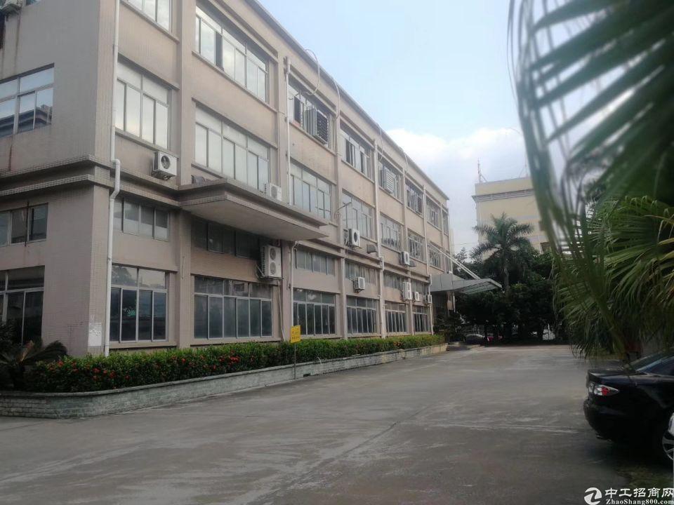 沙井后亭地铁站附近新出原房东精装修厂房1200平