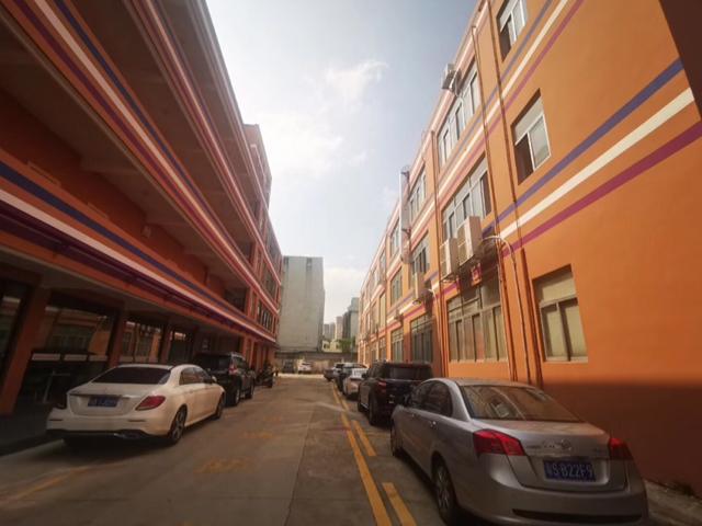 沙井沙头松山厂房1~3层4500平,23块一平