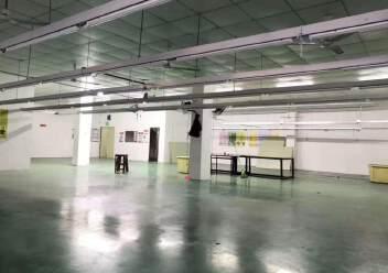 石岩塘头科技园新出楼上精装修435平厂房出租图片1