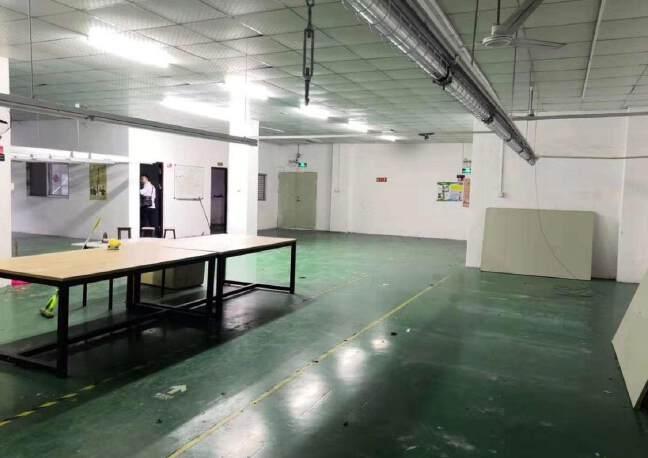 石岩塘头科技园新出楼上精装修435平厂房出租