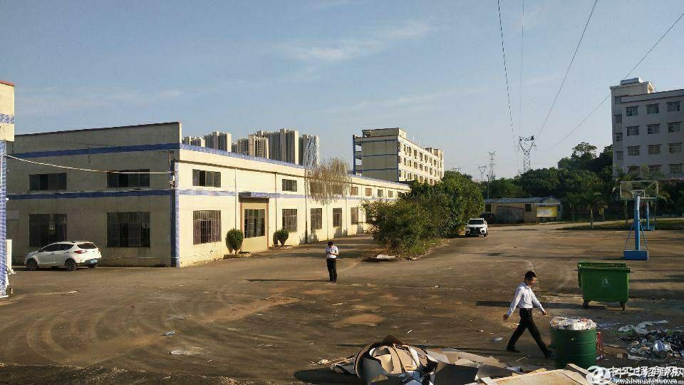 惠州市石湾镇砖墙到顶单一层经典厂房空地超大-图2
