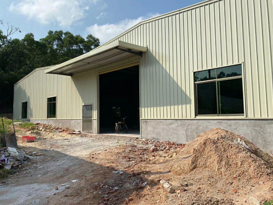 石排镇全新钢构 厂房1700平方