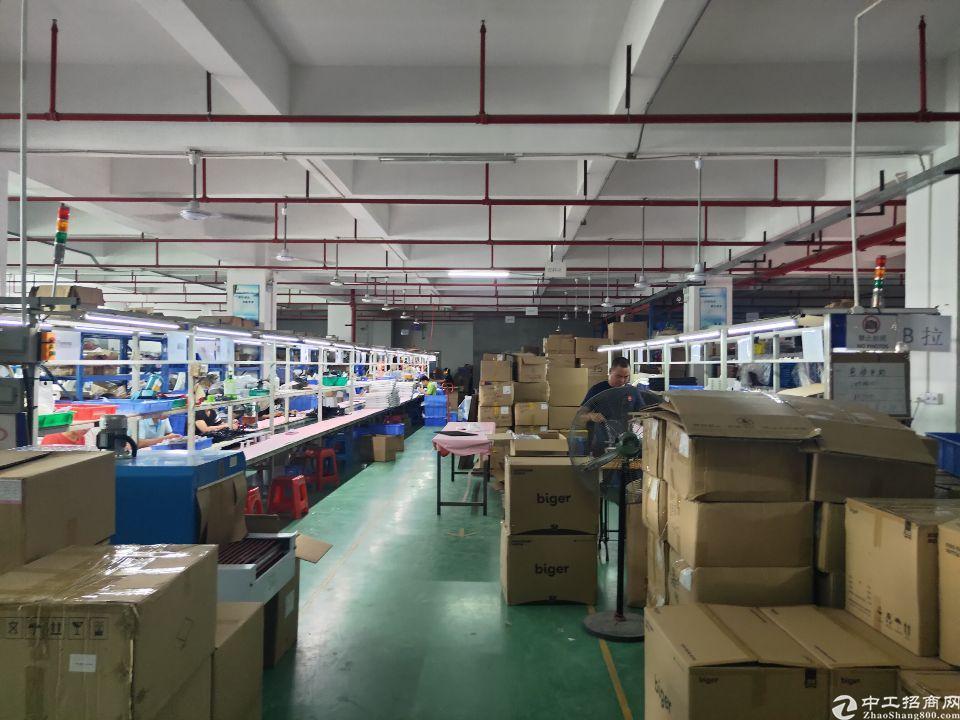 福永同富裕独院楼上2000平米精装修厂房出租-图4