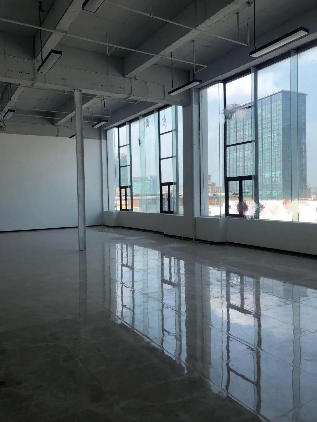 摄影工作室首选坂田红本办公室带装修出租层高6米-图2
