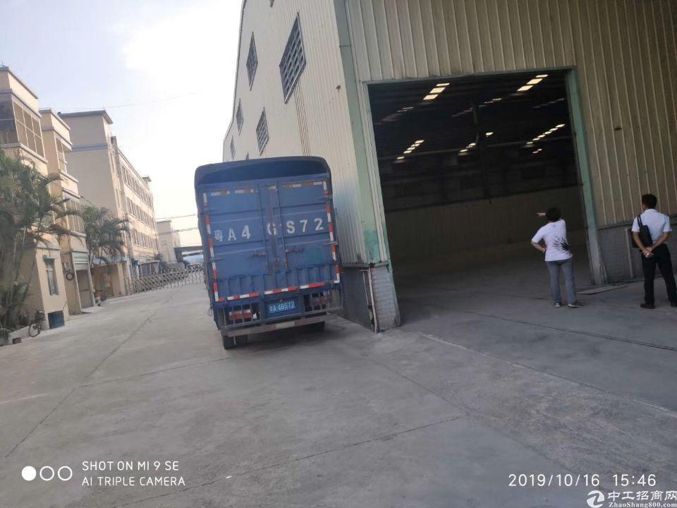 钟落潭金盆新出单一层厂房1550平方,滴水8米可进24米大车