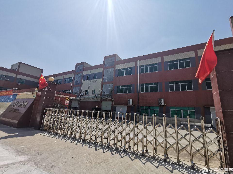 白云区人和镇7600方工业区独院标准厂房仓库招租