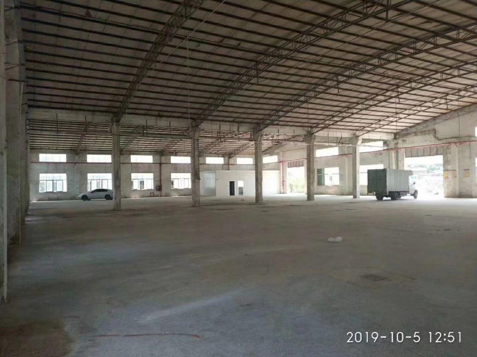 宝安区9600平方带铁皮厂房招租、租金28,整租.3