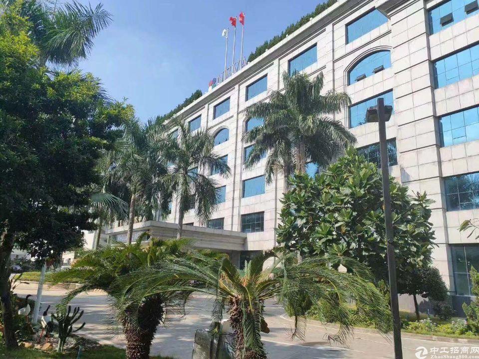 番禺钟村花园式厂房40000方,带红本,形象好,可分租