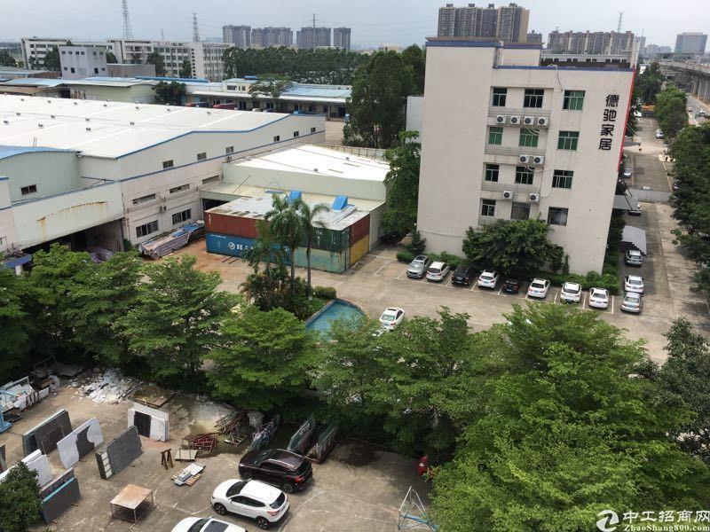 花园式原房东独院厂房单层6700平,1-2层钢构30000平