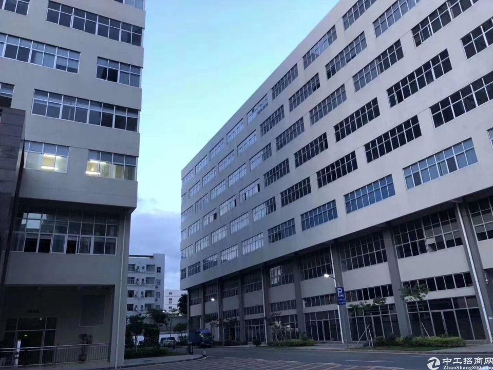 (深圳稀有红本可做学校厂房,年限长) 厂房4万平方,四栋一到
