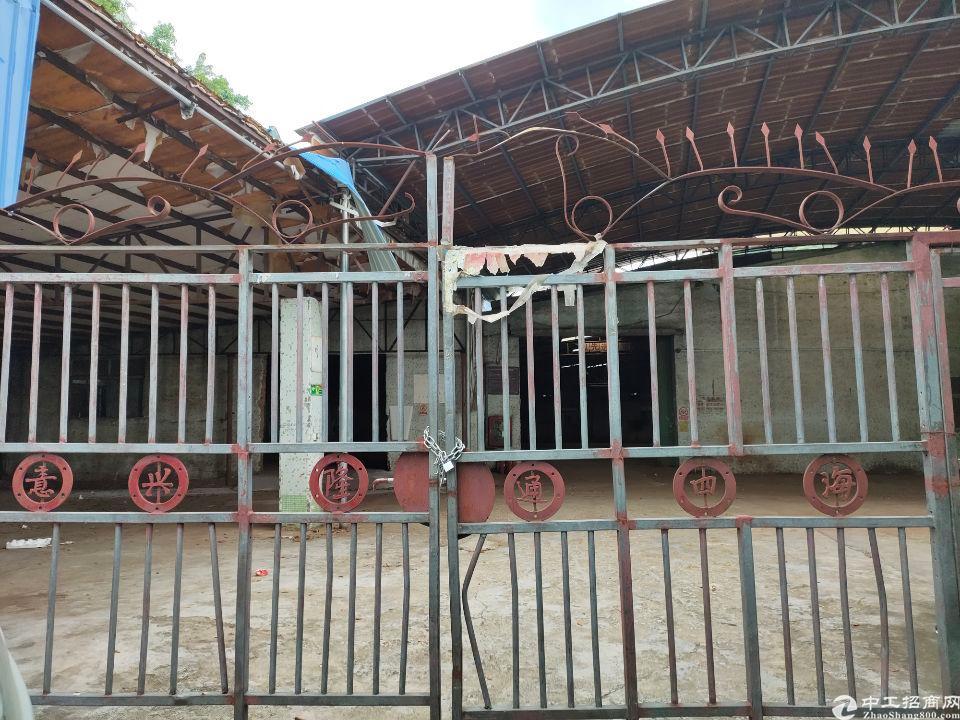 西丽王京坑工业区铁皮房2880平特价出租有环评支持各行业