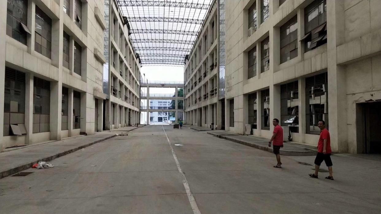厚街三屯靠近道滘新空出独门独院1-3楼13500方,可办环评