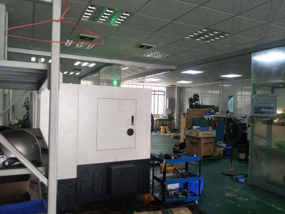 长安沙头实业客转租一楼300平方精装修办公室水电齐全拎包生产