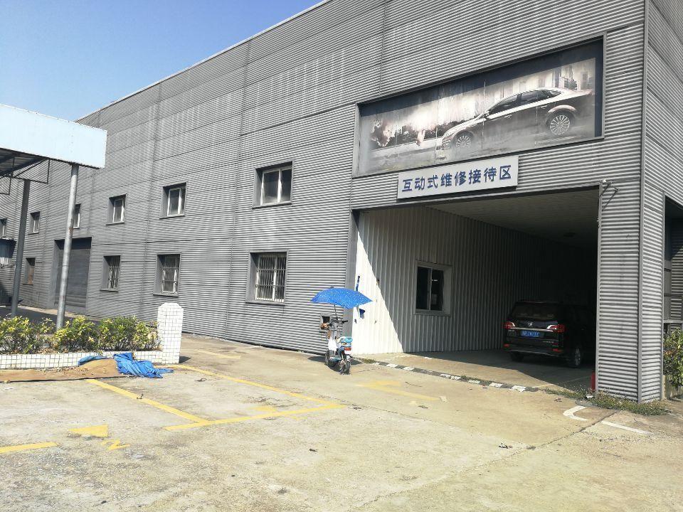 长安镇沿江高速附近新出厂房4500平方,空地1500平方招租