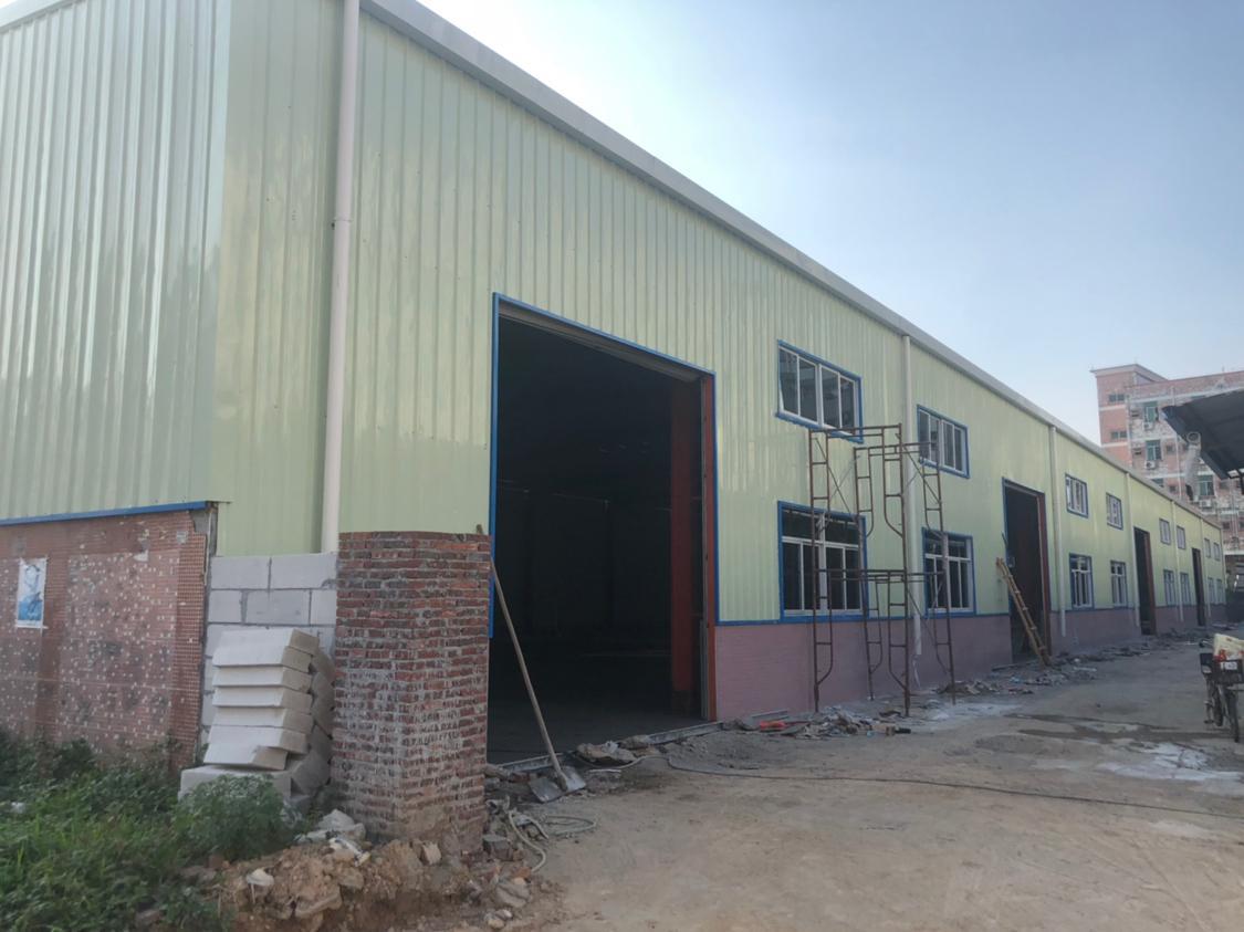 塘厦镇浦心湖工业区全新钢构对外招租
