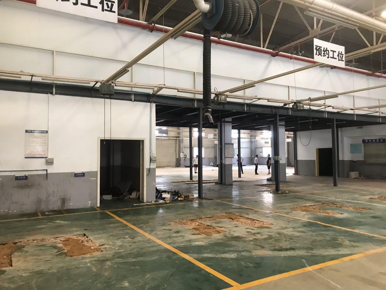 长安振安东路新出厂房。原4s电。空地超大