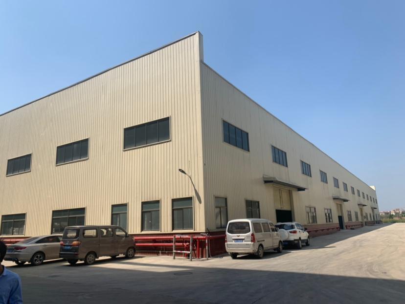 中山市黄圃镇大雁工业区8000平方钢结构厂房出租(13米高)