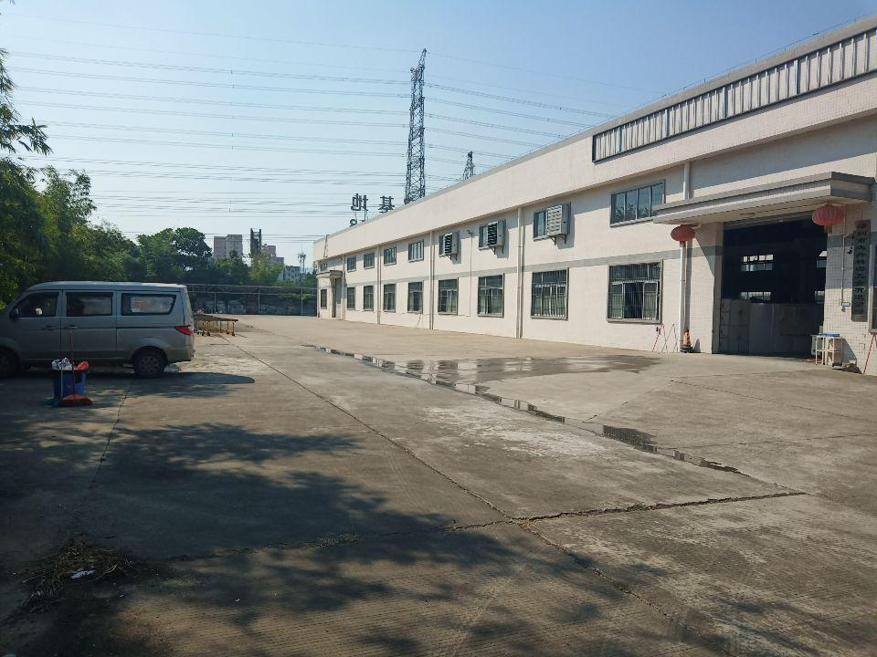 东莞塘厦新出独栋厂房,十米钢构,砖墙到顶,距高速1公里