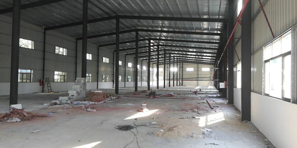 茶山新出独院钢构厂房2500平,有消防喷淋