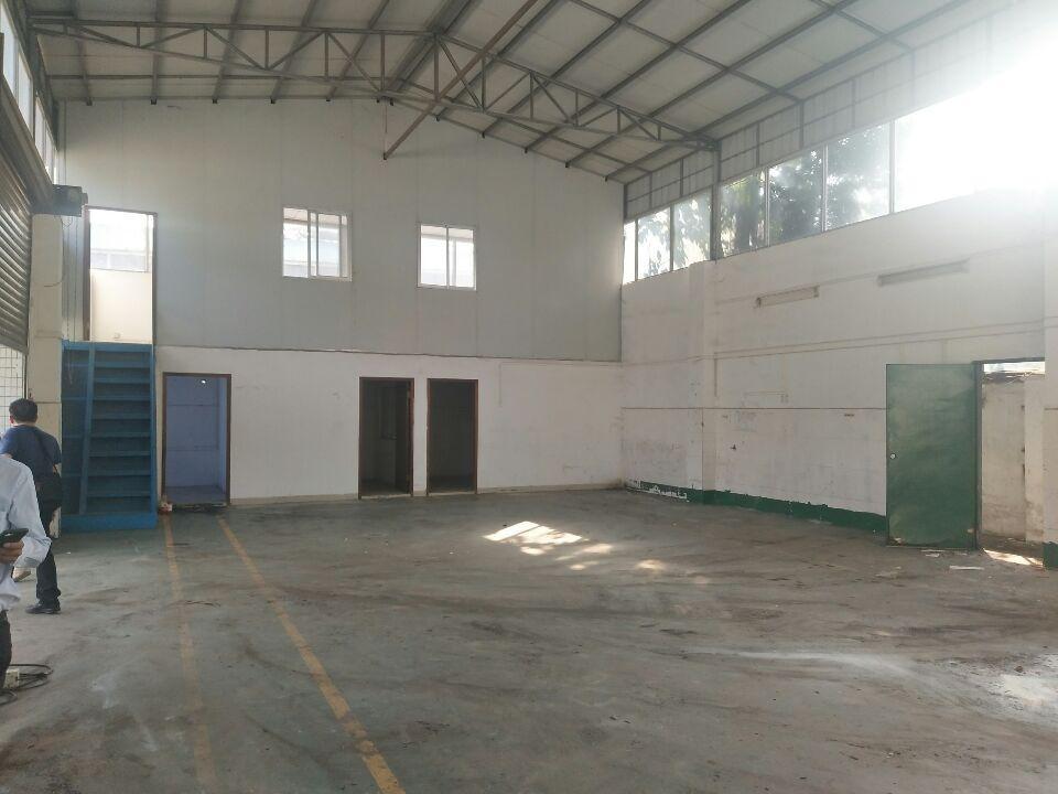 黄埔文冲新出1楼厂房仓库250平招租。