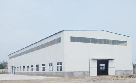 临深8米高钢结构村委高速口厂房出售