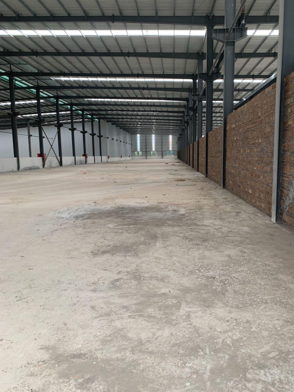 沙田镇独院带牛角钢构厂房仓库出租6300平方