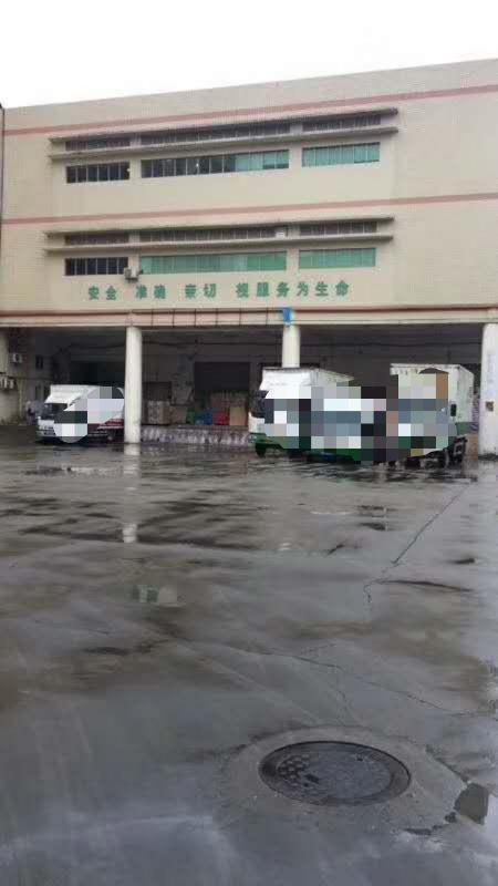 福永怀德新出楼上1500平方带卸货平台物流仓库。