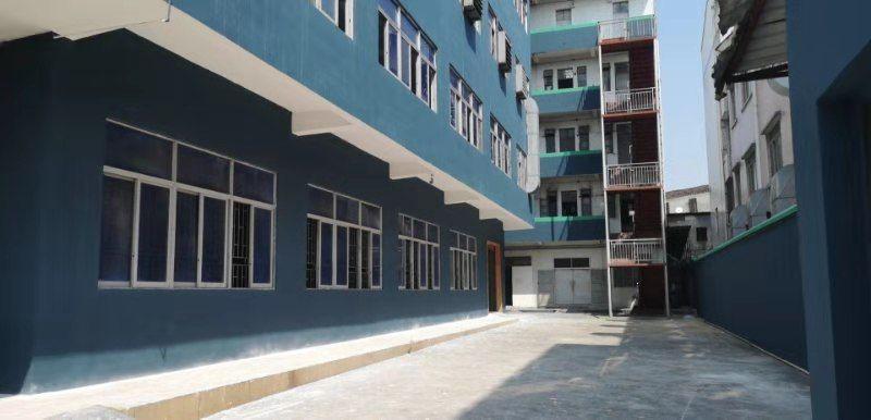 低价出租了 茶山卢屋厂房出租,厂房四层4150平米,宿舍15