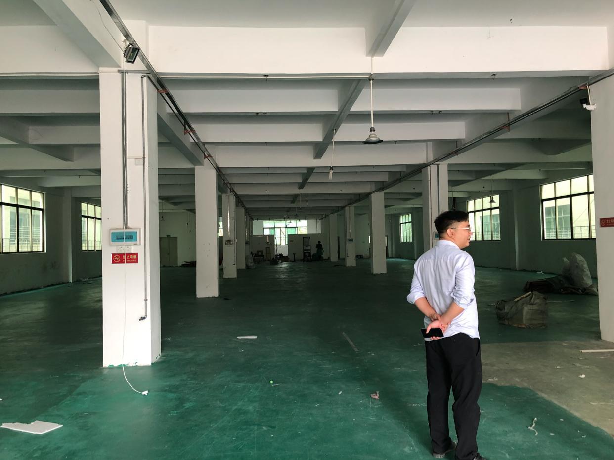 钟村标准厂房1400平米,特价20出租