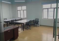 龙华大浪新出园区精装修办公室出租56-1100平面积均匀