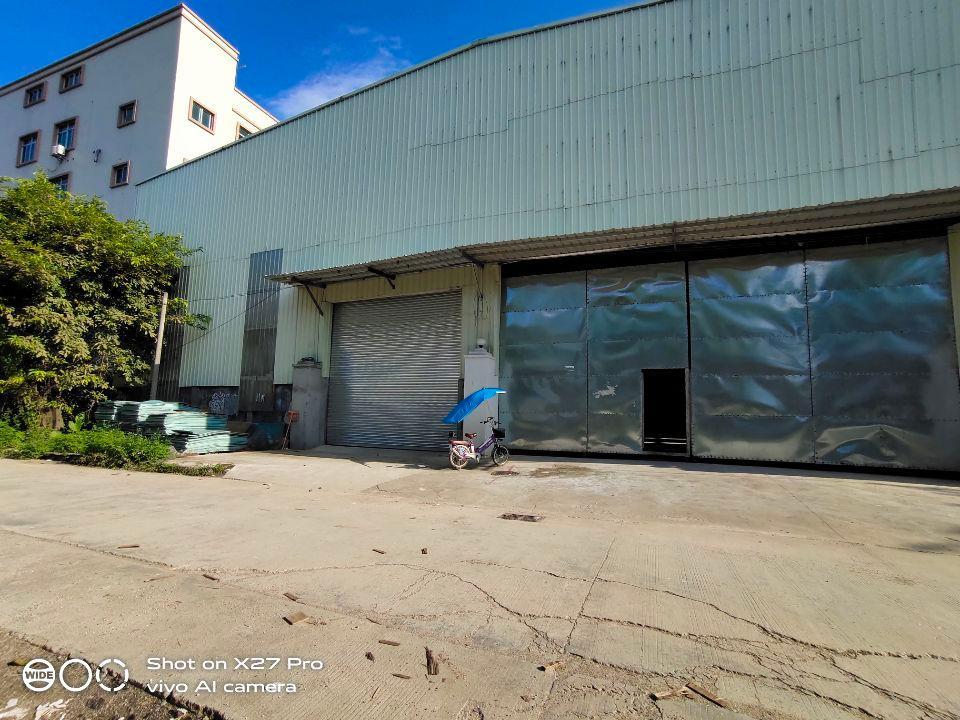 塘厦大坪新出单一层钢构厂房1300㎡滴水7米有现成办公室火抢