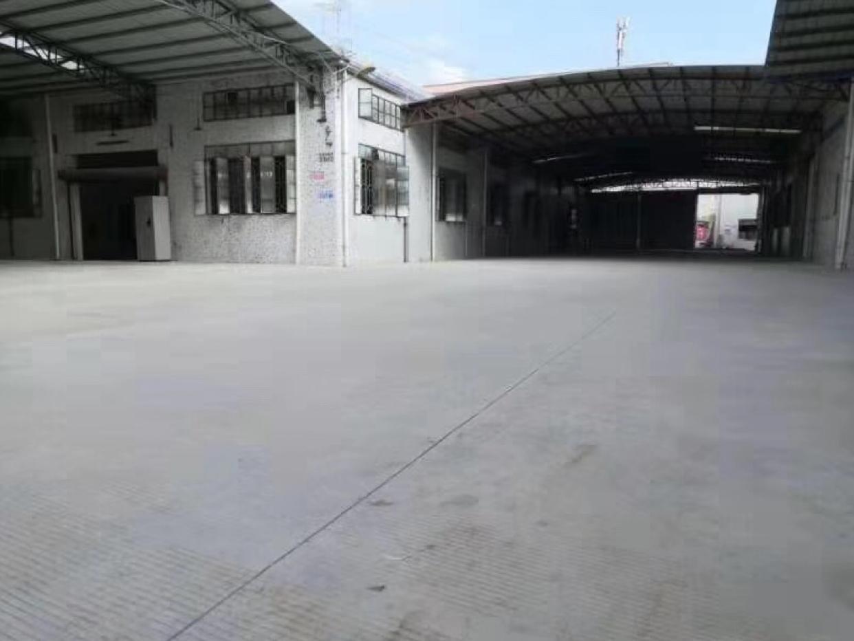 厂房出租独门独院可办环评空地大单一层钢构