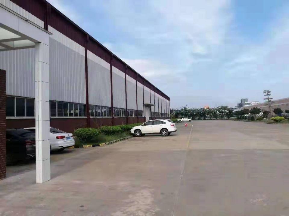 顺德区陈村主干道大型工业区独院厂房16800平方高15米