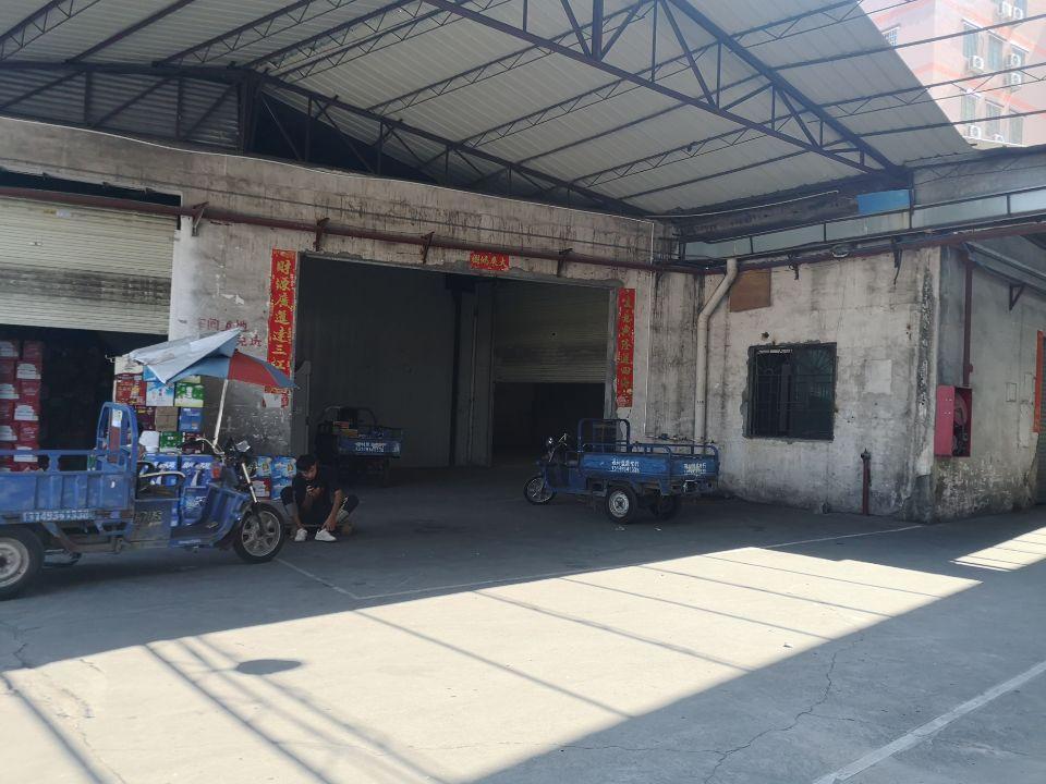 广州市天河区珠吉珠村广园快速路边单一层铁皮仓库600平出租