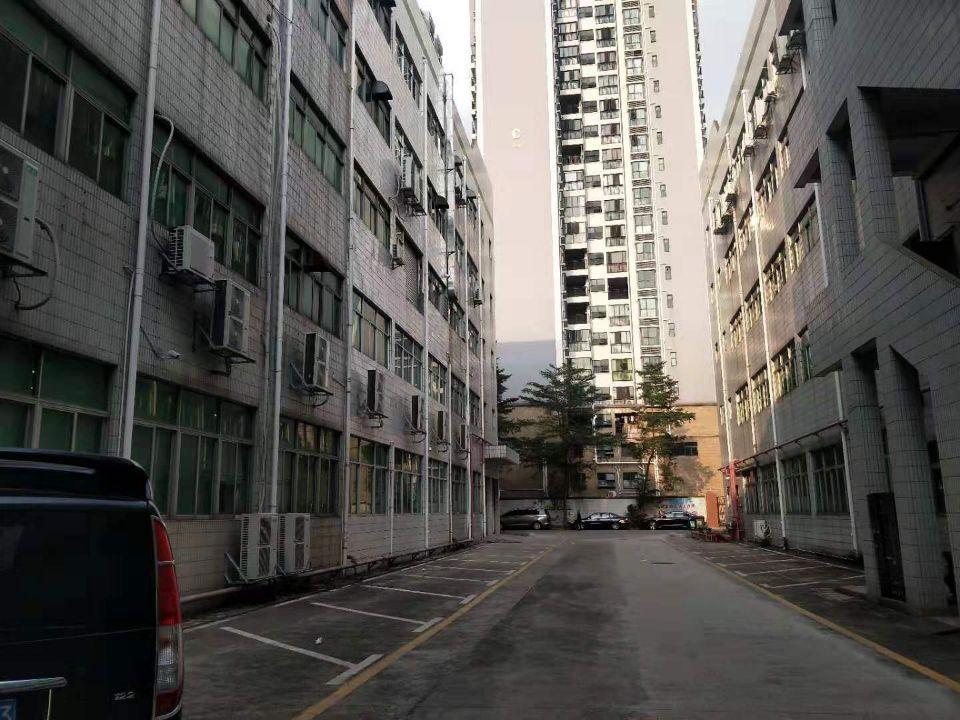 西乡臣田107国道边大型工业园楼上标准厂房1300平方出租