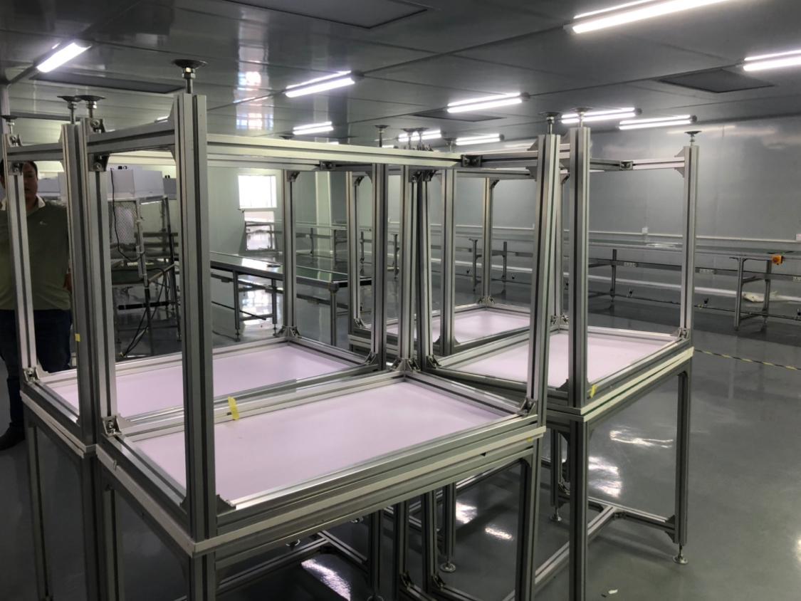 沙田镇原房东厂房仓库出租带有现成无尘车间2000平方
