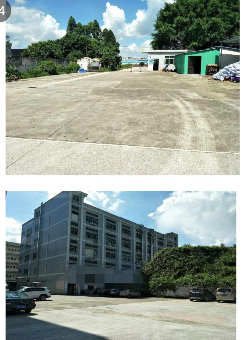 广州番禺区成熟工业区国有证独院厂房7300㎡出售形象好