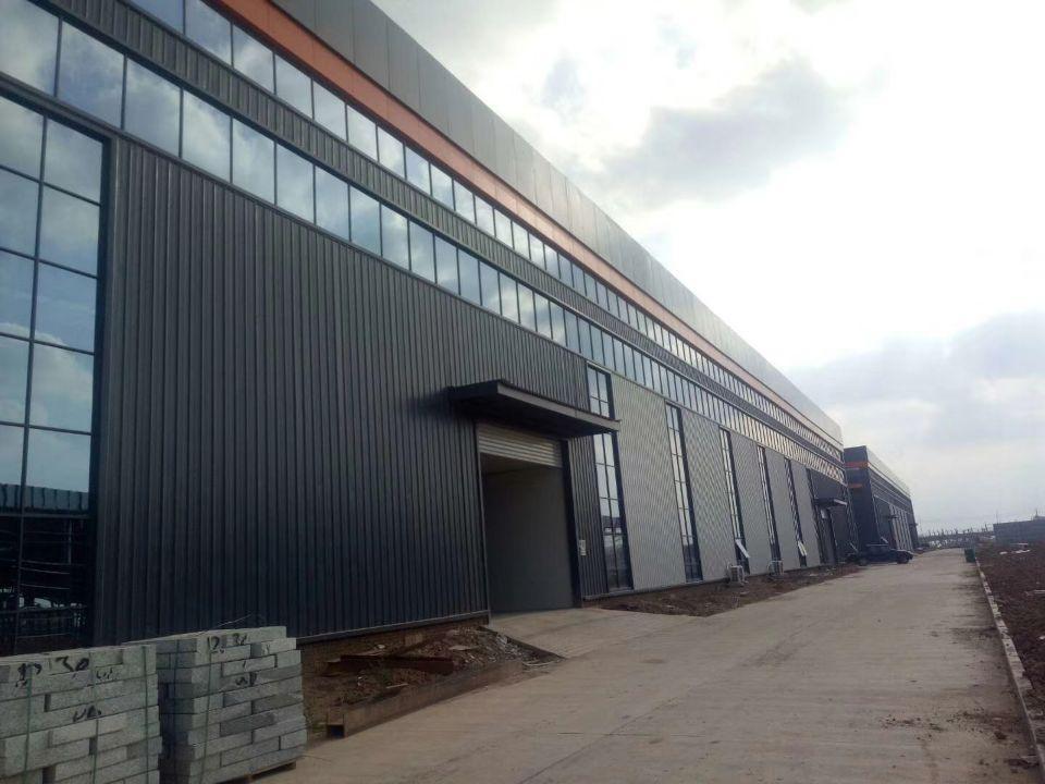 全新工业区厂房钢构仓库65000平方大小面积出租