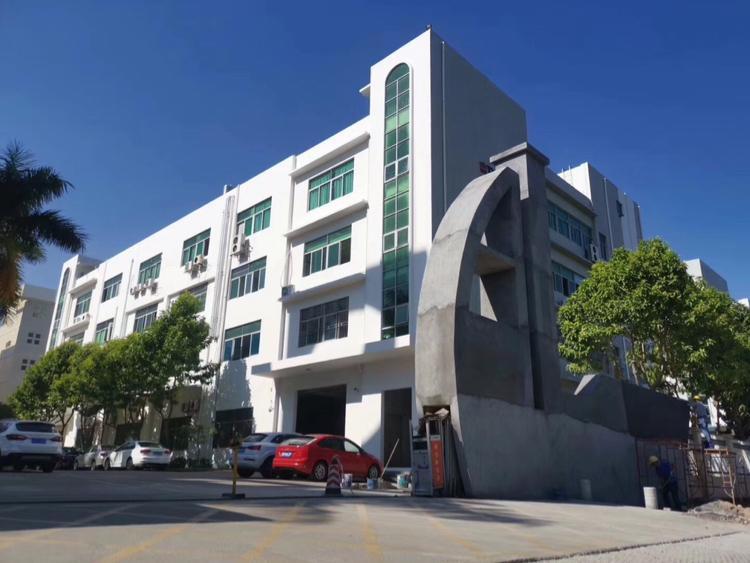 观澜红本大型工业园出租2栋1-4层的,每栋5600平;3