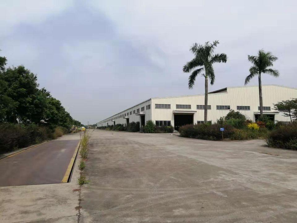 江门占地200亩建筑38000㎡国有双证重型工业厂房出售