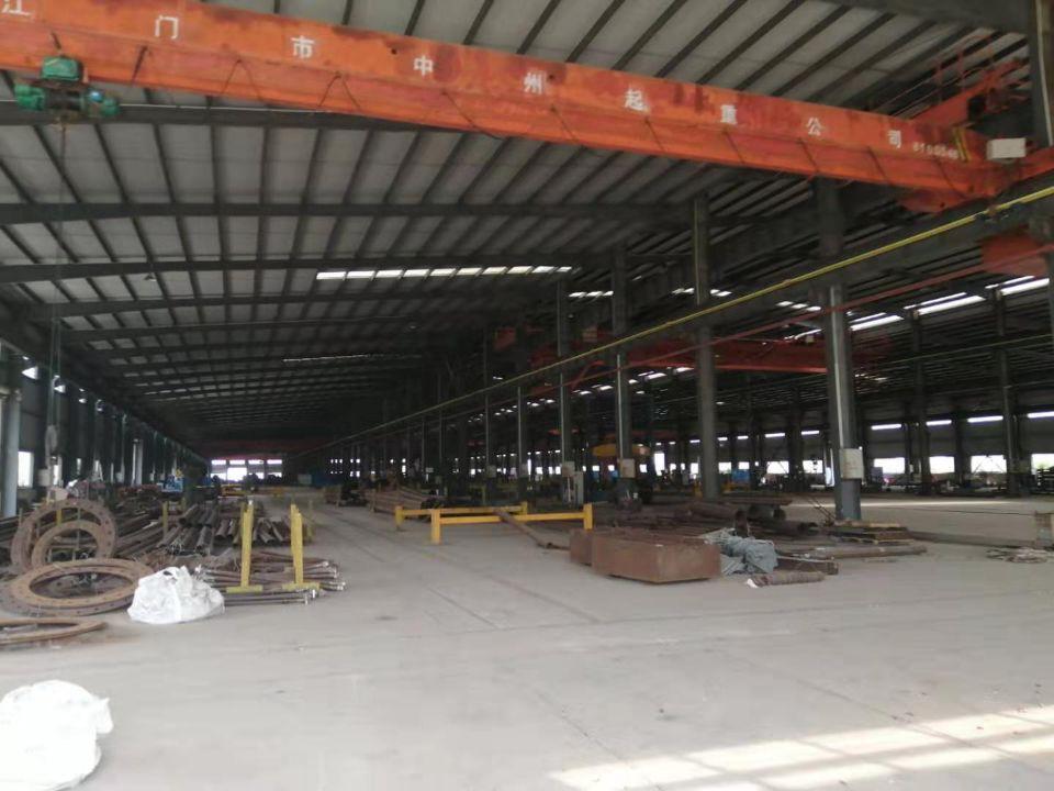 江门占地200亩建筑38000㎡国有双证重型工业厂房出售-图2