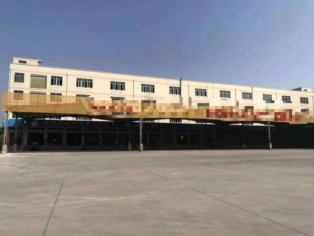 西丽沙河西路旁原房东4500平米带卸货平,喷淋仓库出租