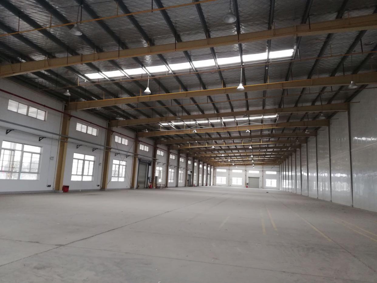 沌口5300平钢结构厂房 可分割 交通便利