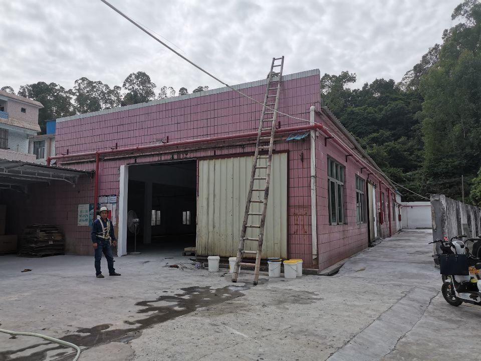 坪山比亚迪旁新出二楼620平厂房出租一楼带仓库