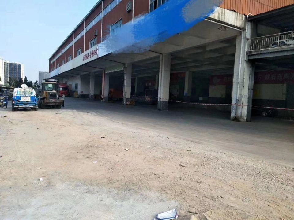 观澜大水坑观光路旁新出一楼7000平带卸货平台仓库出租