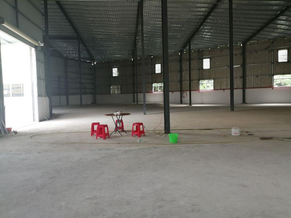 清溪新出全新独院钢构厂房1820平 滴水8米高可分租