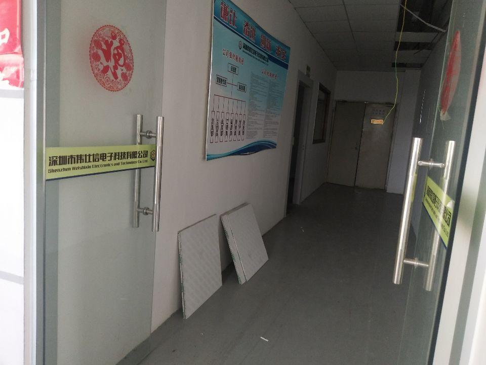 松岗燕川燕罗派出所附近楼上半层740平带装修厂房出租-图3