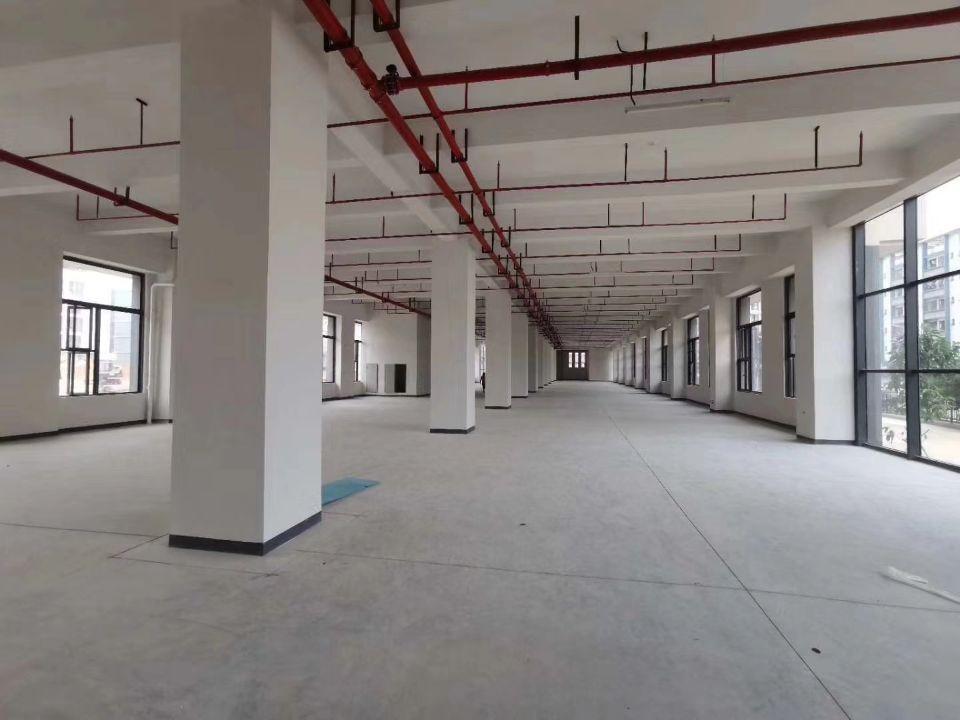 西乡固戍地铁口附近新出楼上整层3500平出租园区有高新补贴-图3